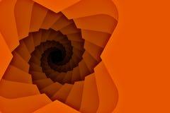 Fundo descendente da escadaria da espiral com espaço da cópia Fotos de Stock