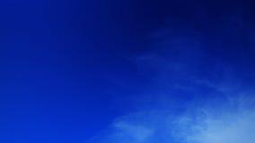 Fundo desobstruído do céu azul Fotografia de Stock