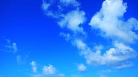 Fundo desobstruído do céu azul Foto de Stock