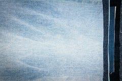 Fundo diferente abstrato da textura das listras das calças de brim fotos de stock royalty free