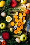 Fundo diferente dos vegetais Comer saudável Limpe o eatin Fotos de Stock