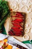 Fundo diferente dos vegetais crus Comer saudável Limpe o eatin Fotos de Stock Royalty Free