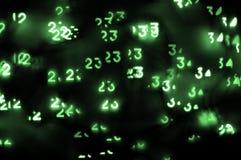 Fundo digital abstrato Imagem de Stock