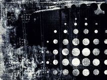 Fundo digital abstrato textured Grunge ilustração do vetor