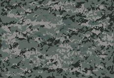 Fundo digital cinzento da ilustração da camuflagem Imagem de Stock Royalty Free