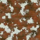 Fundo dilapidado da parede de tijolo do cimento ilustração royalty free