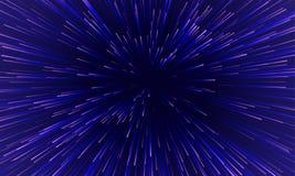 Fundo dinâmico abstrato do teste padrão da luz do movimento ilustração royalty free