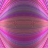 Fundo dinâmico abstrato simétrico das linhas curvadas finas - vector a ilustração Fotografia de Stock Royalty Free