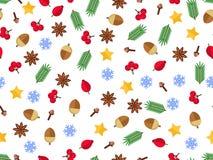 Fundo do abeto do Natal, olhar realístico, projeto do feriado ilustração royalty free