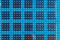 Fundo do abstarct do painel solar fotografia de stock