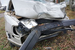 Fundo do acidente de viação Fotos de Stock