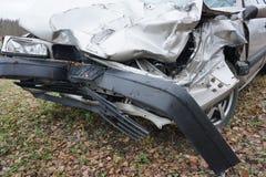 Fundo do acidente de viação Imagens de Stock