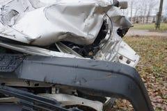 Fundo do acidente de viação Fotografia de Stock
