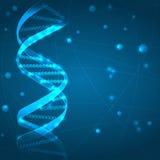 Fundo do ADN ilustração do vetor