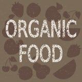 Fundo do alimento biológico ilustração do vetor