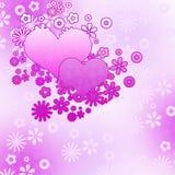 Fundo do amor Fotografia de Stock