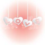 fundo do amor Fotos de Stock