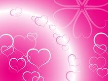 Fundo do amor Fotografia de Stock Royalty Free