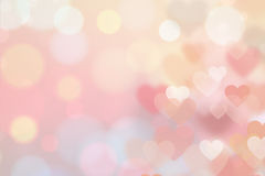 Fundo do amor do coração Imagens de Stock Royalty Free