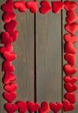 Fundo do amor dos corações - vetor Imagem de Stock Royalty Free