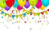 Fundo do aniversário Imagens de Stock Royalty Free