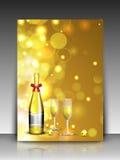 Fundo do ano 2013 novo feliz. EPS 10. Fotografia de Stock Royalty Free