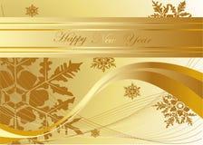 Fundo do ano novo ilustração royalty free