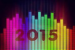 Fundo do ano novo ilustração stock
