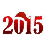 Fundo do ano novo Imagem de Stock