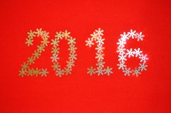 Fundo 2016 do ano novo Foto de Stock