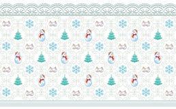 Fundo do ano novo com árvore de Natal ilustração royalty free