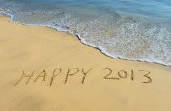 Fundo do ano novo com 2013 Imagens de Stock