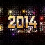 Fundo do ano novo feliz Fotografia de Stock