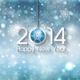 Fundo do ano novo feliz Fotos de Stock