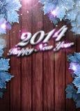 fundo do ano 2014 novo feliz Imagem de Stock