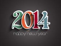 Fundo do ano novo feliz Imagem de Stock Royalty Free