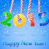 Fundo do ano 2015 novo feliz ilustração royalty free
