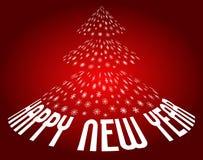 Fundo do ano novo feliz Imagem de Stock