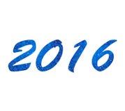 fundo do ano novo feliz de 2016 Felizes Natais Fotos de Stock