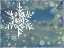 Fundo do ano novo feliz e do Feliz Natal Fotos de Stock Royalty Free