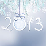 Fundo do ano 2013 novo feliz. + EPS8 Imagens de Stock Royalty Free