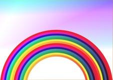 Fundo do arco-íris Imagens de Stock