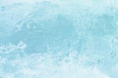 Fundo do azul de gelo fotos de stock