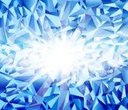 Fundo do azul de gelo do vetor ilustração do vetor