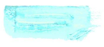 Fundo do azul de turquesa Projeto de superfície do teste padrão do Grunge Textura das lavagens Foto de Stock