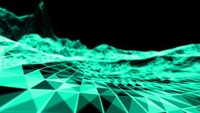 Fundo do azul do abstact do fogo Ilustração da cor 3D da explosão ilustração do vetor