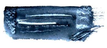 Fundo do azul do mar Projeto de superfície do teste padrão do Grunge Textura das lavagens Imagens de Stock Royalty Free