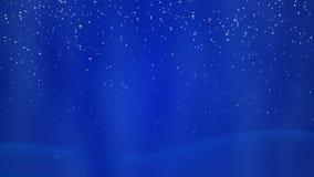 Fundo do azul do Natal ilustração royalty free