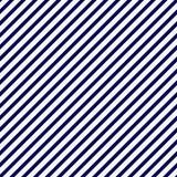 Fundo do azul marinho e o branco do teste padrão listrado da repetição Fotos de Stock Royalty Free