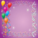 Fundo do balão Imagens de Stock Royalty Free